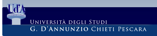 link alla Home Page del portale dell'Universit di Chieti - logo Universit degli studi di Chieti